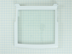 WPW10276348 Refrigerator Shelf Glass Assembly- AP6018411, PS11751713