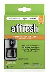 W10355052 Affresh+ Coffee Maker Cleaner AP5180538 PS3494891