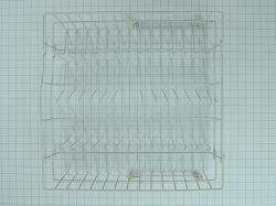 WD28X10210 Dishwasher Upper Dish Rack