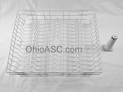 WD28X10369 Dishwasher Upper Rack With Rollers