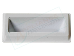 WE1X1196 White Dryer Door Handle