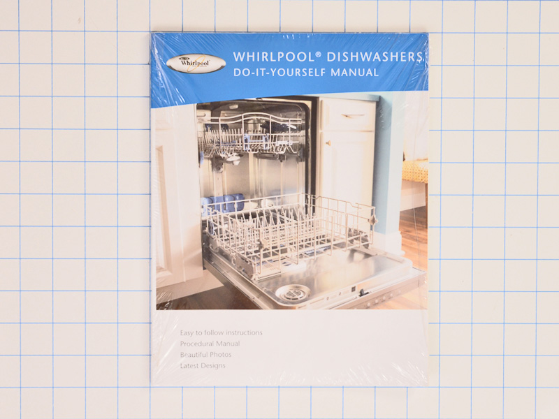 W10131216 Whirlpool Kenmore Dishwasher Repair Manual For