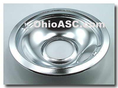 Kitchenaid Garbage Disposal Magnet Stopper 4162870 Manual On W10196405 Chrome Range Surface Drip Pan 8 Inch Bowl