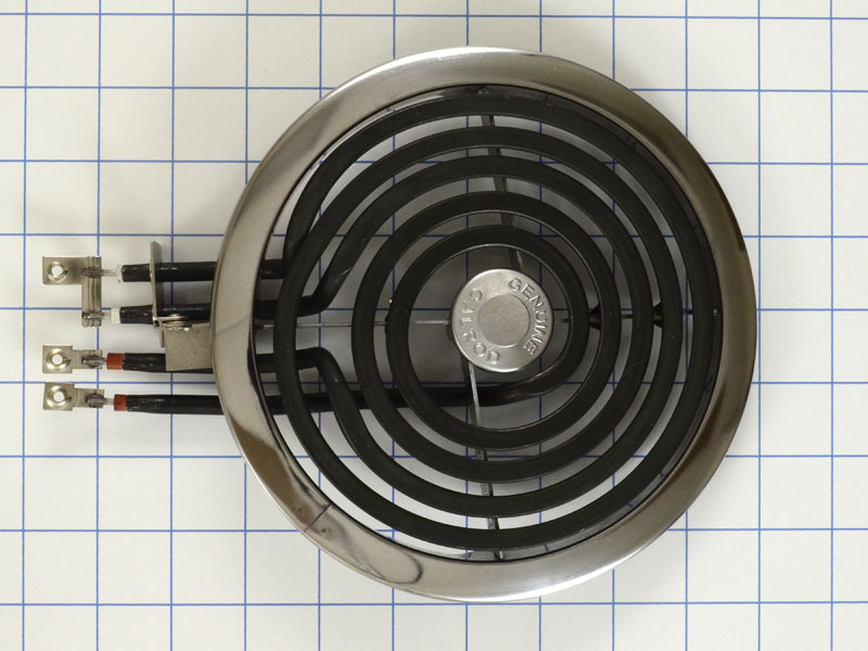 Wb30x356 6 Inch Range Burner With Trim Ring Ge