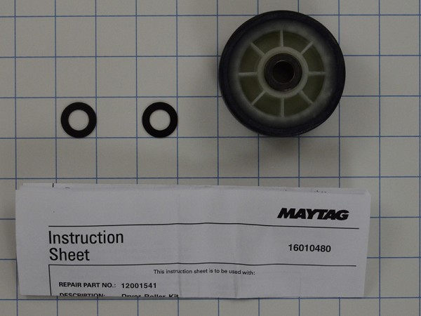 12001541 - Dryer Drum Support Roller Kit -  AP4008534, PS1570070