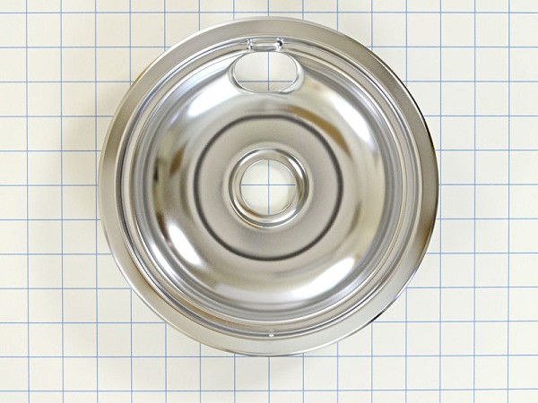 "316048413 Chrome Range 8"" Drip Pan- AP2124664, PS437595"