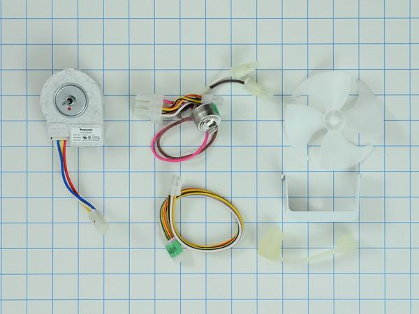 wiring diagram for an evaporator fan motor refrigerator evaporator fan motor kit part 8201589  ap3182981  refrigerator evaporator fan motor kit