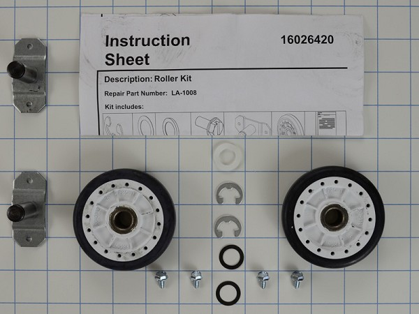LA-1008 Dryer Support Roller Kit AP4242491, PS2162268