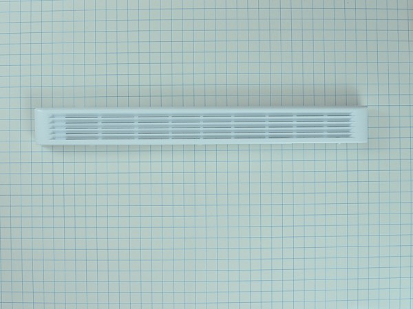 WB07X10968 - Microwave White Grille