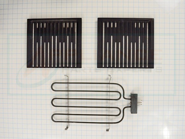 12001882 Range Grill Element and Grate Assembly - AP4010075, PS2003410