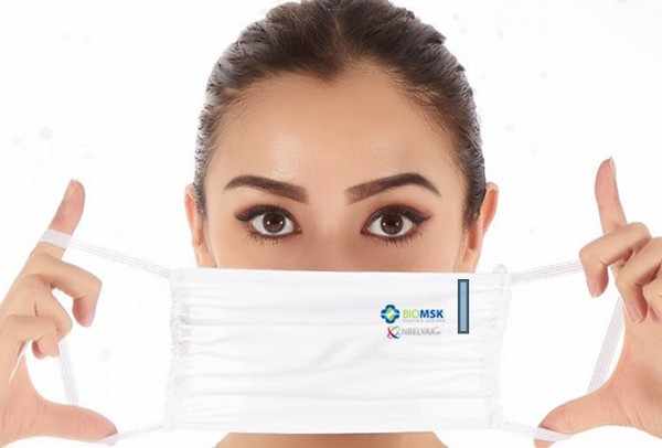 BIOMSK - Reusable Cloth Facemask with NBELYAX® Nanomolecules (25 Pack) - CHEAPER THAN DISPOSABLE MASKS!