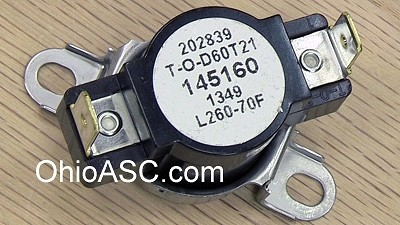 3204267 Dryer High Limit Thermostat 260F AP2131477 PS446428