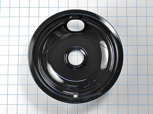 W10290350rw Black Drip Pan Bowl 8 Inch Whirlpool