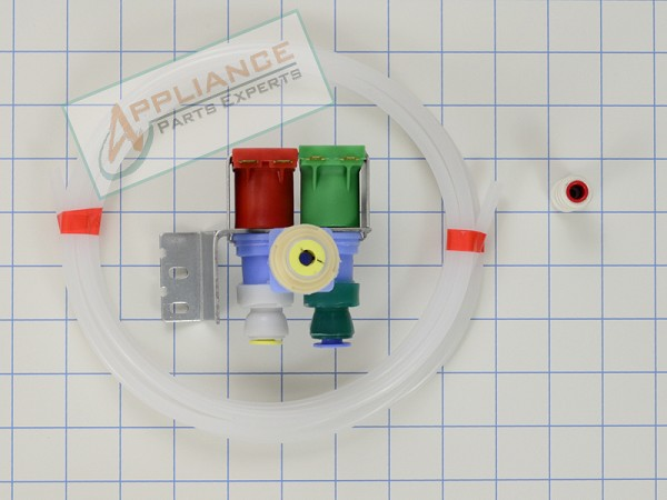 W10408179 Refrigerator Water Valve - AP5263471, PS3497634