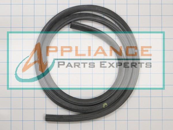 appliancepartspros seal short doors gasket dishwasher com diagram ge lower part bottom door