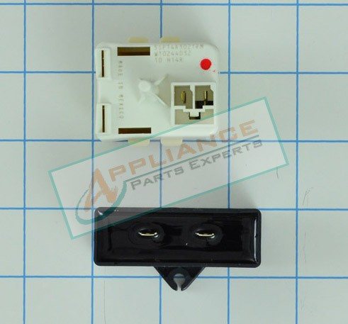 W10613606 Refrigerator Relay And Capacitor - 67005560, AP5787784, PS8746522, W10416065