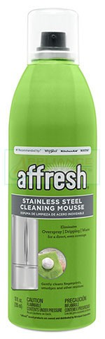 W11042466 Affresh+ Stainless Steel Cleaning Mousse AP6262348