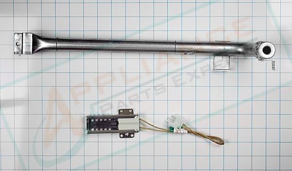Wb16k10035 Gas Range Ignitor And Burner Tube