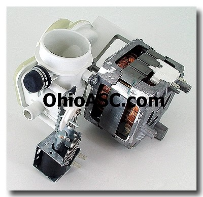 Wd26x10013 dishwasher motor and pump ap2616850 ps260801 for Ge dishwasher motor replacement