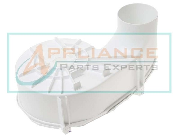 WE14X10025 Dryer White Blower Housing Assembly