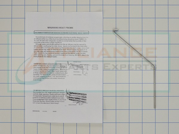 WR2X9393 Refrigerator Heat Probe AP2635580, PS299784